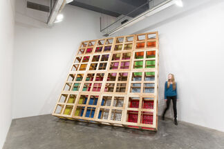 "BroLab ""Dead Lift"", installation view"
