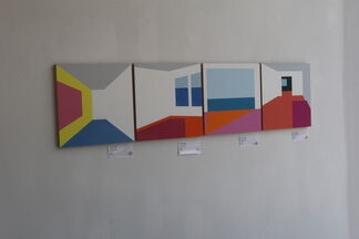 Structured Spaces, installation view