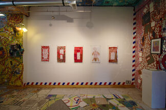Allá Abajo/Down Below: A Reaction to Our Times by Ornella Ridone, installation view