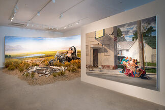 """Kent Monkman """"The Urban Res"""", installation view"""