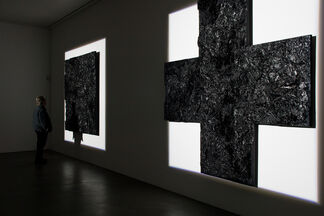 Robert Longo `The Invention of Zero (after Malevich), 1991´, installation view