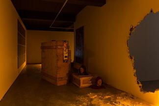 Cabra Cega, installation view