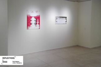 """REFLECTIONS  &  DOGS - """"Artist in Residence"""" Felix Baltzer, installation view"""