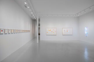looking around, gazing intently, beholding, installation view