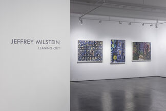 "Jeffrey Milstein ""Leaning Out"", installation view"