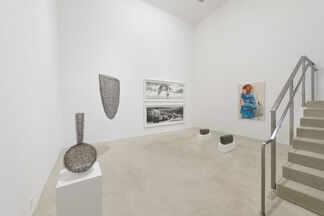 Hands Across the Water, installation view