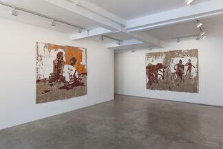 Armand Boua, Djossi a Yopougon, installation view