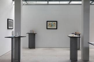 """MON MON"" ー picture score for improvisation, 1974 ー, installation view"