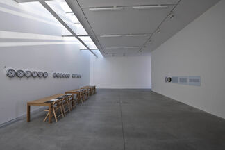 """JOSEPH KOSUTH """" 'Texts for Nothing' Samuel Beckett, in play"""", installation view"""