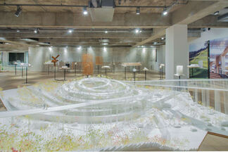 SOU  FUJIMOTO:  FUTURES  OF  THE  FUTURE &  ARCHITECTURE  IS  EVERYWHERE, installation view