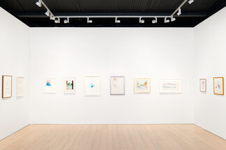 David Hockney: Early Drawings, installation view