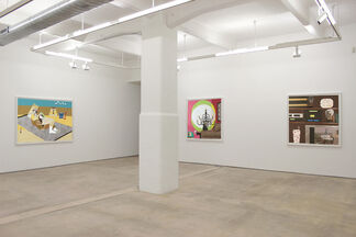 Derrick Adams: Aestheticized Reductions of Self-Representation, installation view