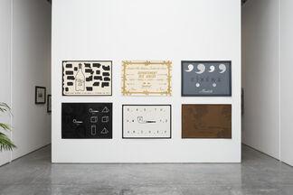 Marcel Broodthaers, installation view