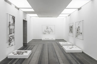 Exhibition of the shortlisted artists for the PinchukArtCentre Prize 2015, installation view