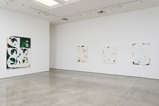 Kevin Appel: slip collapse then and, installation view