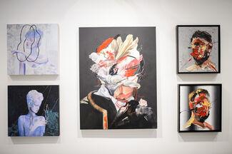 Anamorphic Portraiture, installation view