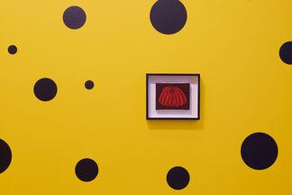 Yayoi Kusama: Small Pumpkin Paintings, installation view