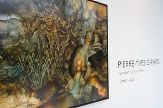 Pierre-Yves Girard: Variation sur une lumière, installation view