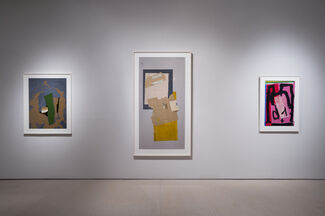 Robert Motherwell: Four Decades of Collage, installation view