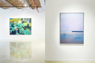 John Evans: Time and Place, installation view