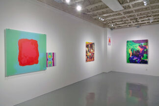 """Heath Flagvedt """"Frequency Totems"""", installation view"""