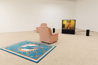 Leo Gabin : A Crackup at the Race Riots, installation view