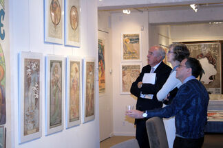 In The Beginning: Rare and Antique Posters from 1890-1905, installation view