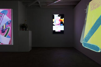 Exchanges (Gallery takeover), installation view