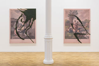 Julian Schnabel: The re-use of 2017 by 2018. The re-use of Christmas, birthdays. The re-use of a joke. The re-use of air and water., installation view