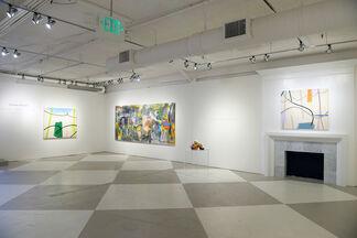 Women Painters: Jane Booth, Mel Davis and Karen Silve, installation view