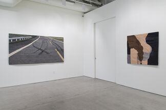 Darkness Lies Ahead, installation view