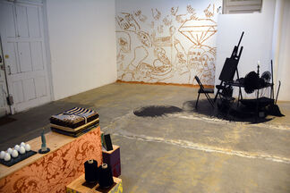 Structures and Layers, installation view
