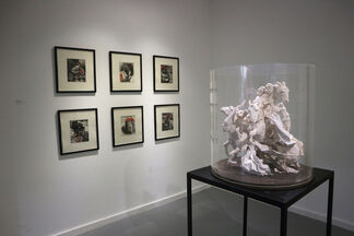As the Crow Flies, installation view