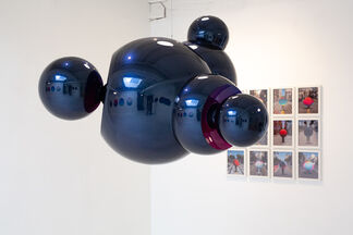 Jan Kaláb Perspective of Clouds, installation view