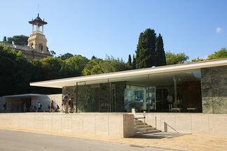 Pavilion, Karin Kneffel, installation view