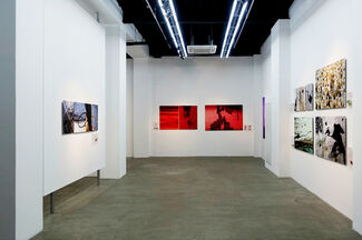 Over and Above, Above and Beyond: Photography by Nathalie Perakis-Valat, installation view