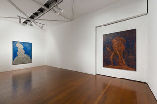 AND THE HORIZON SWALLOWED THE TORTOISE, installation view