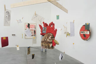 Issa Samb: From the Ethics of Acting to the Empire Without Signs, installation view