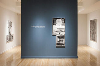 Robert Rauschenberg and Photography, installation view