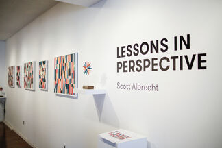 Lessons In Perspective works by Scott Albrecht, installation view