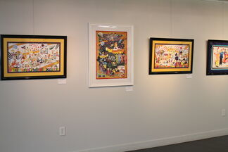 Beatles Cartoon Pop Art Show, installation view