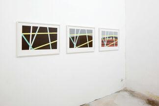 UNBLINKING, installation view
