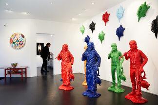 FLOWER POWER at Galleri GKM!!!, installation view