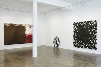 Your Mask (Part III: Don't Forget Your Mask): Sebastian Dacey, Hedwig Eberle, Hermann Nitsch, Stefan Vogel, installation view