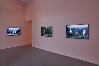 Figures in Landscape, installation view