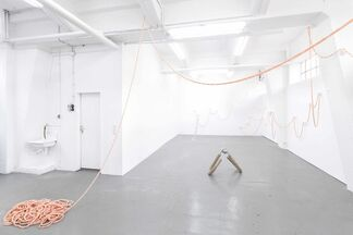 Hannah Levy, Live in yours, play in ours, installation view