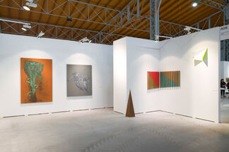 Galerie Christian Lethert at viennacontemporary 2015, installation view