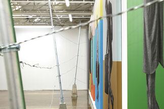 Land Escape, installation view
