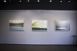 """Elizabeth Stone """"Negative   Positive"""" + Nicole Campanello """"In the Interim"""", installation view"""