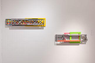 Dieter Balzer + Dirk Salz: Novum Spatium, installation view
